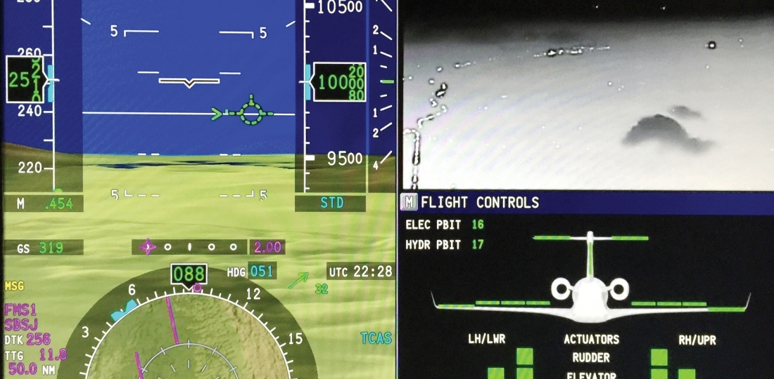 Hands On Hud And Fly By Wire Enhances Legacy 500 The