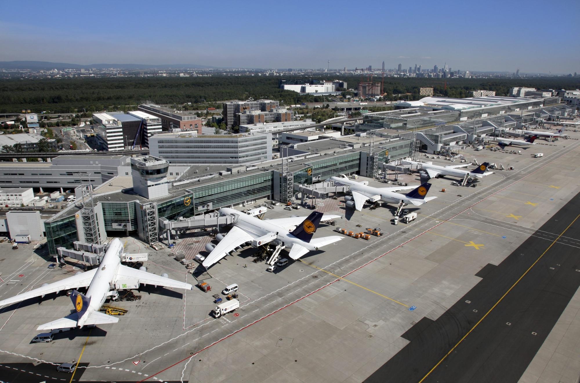 Gate Frankfurt Flughafen