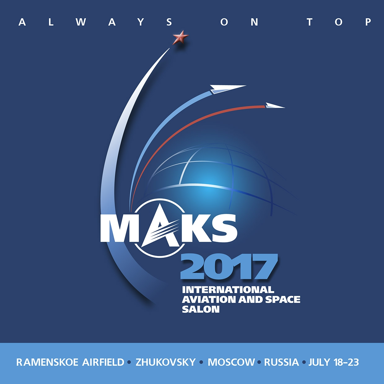 MAKS Air Show - 18/07/2017 in Russian Federation, Zhukovsky