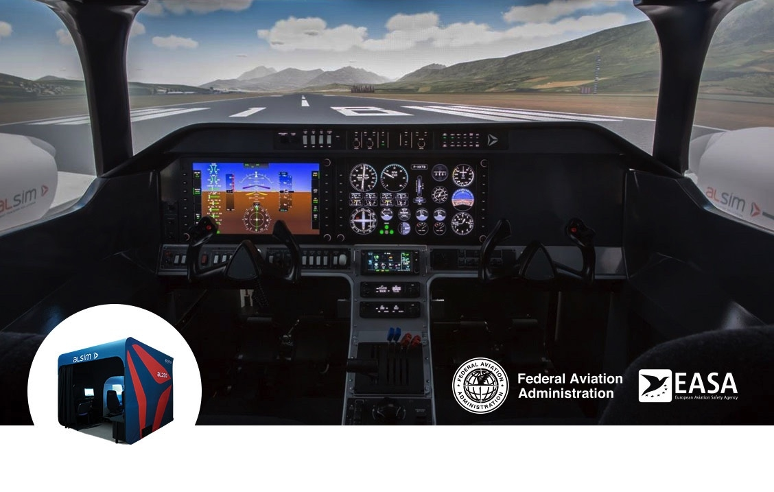 ADVENTURE AVIATION CHOOSES ALSIM AL250 SIMULATOR  ALSIM is