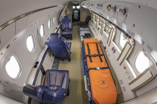 Babcock Scandinavian Air Ambulance With First Air Ambulance