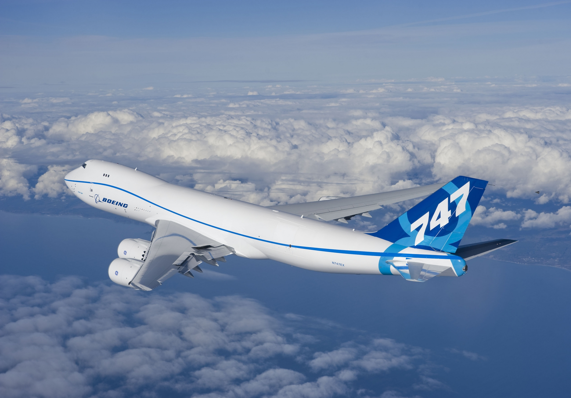 Boeing Gets Order For 747-8 Freighters  Boeing has booked four