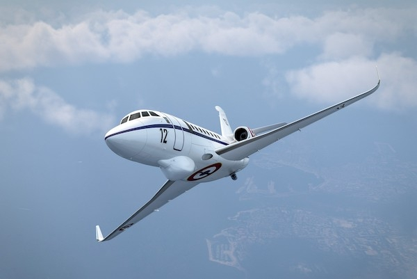 French Navy selected Falcon 2000 Albatros. During visit to Dassault