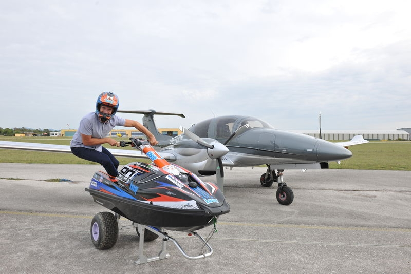 Kevin Reiterer flying high - Diamond Aircraft as new sponsor
