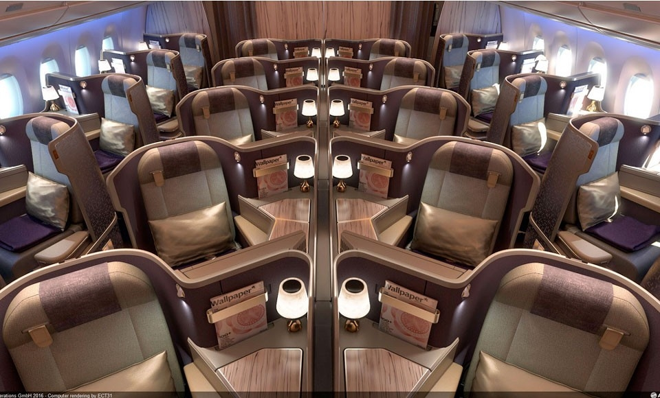 Step Inside China Airlines Extravagant New Airbus A350