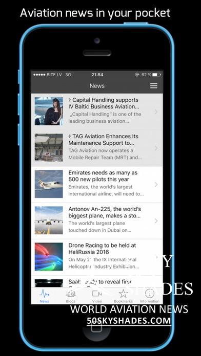 Aviation news feed